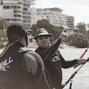 1 x Kitesurfing Lesson for 2 People