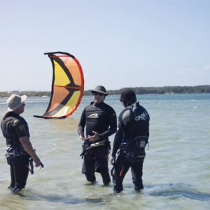 2 x Kitesurfing Lessons for 2 People